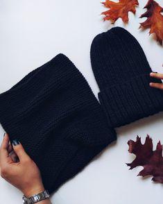 Шапка и снуд из 100% мериносовой шерсти Winter Hats, Knitting, Handmade, Fashion, Moda, Hand Made, Tricot, Fashion Styles, Breien