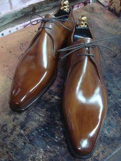 The Shoe Snob: Altan Bottier Beauties!! Maître bottier #bottier #soulier #menstyle #mensfashion #mensfootwear #luxury #calceophile #modemasculine #patine