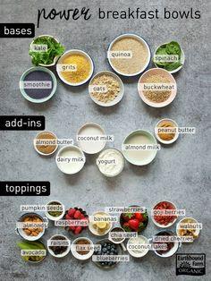 Build a Power Breakfast Bowl | Earthbound Farm Organic - Ideen für Frühstücksbowls