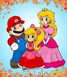 Mario and peach's daughter, princess passion