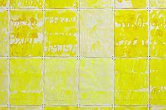 YOSEF JOSEPH DADOUNE   Detail  Quarante-quatre levers de soleil, (44 x 90 ans. 44 x 30 jours. 44 x 12 mois), 2016 Suite de 44 aquarelles  Gouache, encre de chine jaune, acrylique, eaux sur papier Coton recyclee fait a la main  Rag 210 Gr ( Sud Inde ). 41 X 29.08 cm   41 x 29,08 cm chacun   Photographer: ©jcLett