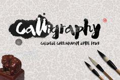 Calligraphy Typeface + BONUS by alphadesign on Creative Market
