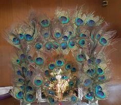Ganpati Decoration Design, Mandir Decoration, Ganapati Decoration, Arch Decoration, Diwali Decorations, Festival Decorations, Janmashtami Decoration, Ladoo Gopal, Bal Krishna