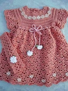 Free Patterns: Children's dress crochet pattern yarn