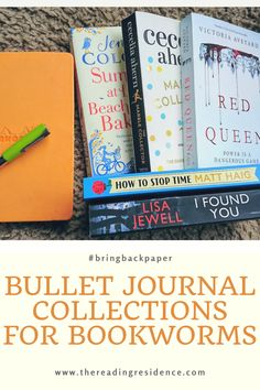 Add these fun book loving collections to your bullet journal now! The ideal prompts for any bookworm, collections that you must have noted down #bringbackpaper #bulletjournalideas #bulletjournalcollections #journalprompts