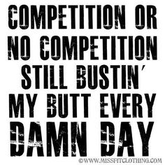 Every damn day!