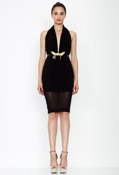 Camilla Midi Dress - Black  £73.50