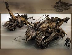 Gears Of War 3 Locust Siegebeast Concept Art World, Concept Cars, James Hawkins, Gears Of War 3, Unreal Tournament, Tyranids, Epic Games, Video Game Art, War Machine