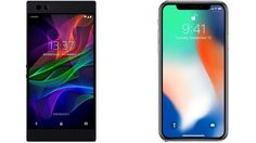 Razer Phone vs Apple iPhone X Subscribe! http://youtube.com/TechSpaceReview More http://TechSpaceReview.tumblr.com