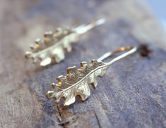 A personal favorite from my Etsy shop https://www.etsy.com/listing/287168823/golden-leaf-dangle-earrings-gold-filled