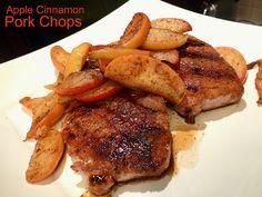 Apple Cinnamon Pork Chops - Home - Sex, Food & Kettlebells