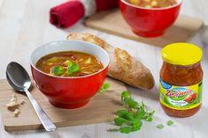 Pikantní čočková polévka