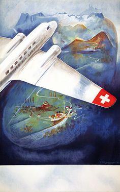 Eugen Haeffelinger Swissair