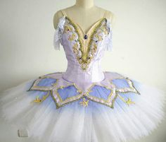 Exclusive Collection 2015-2016. This stunning tutu with gradient colors has been created for the role of the Lilac Fairy. It can also be used for other roles, like Dew Drop, Sugar Plum Fairy, Sleeping