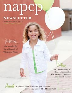 November NAPCP Newsletter: Meet Sara Brennan-Harrell and much more! #napcp www.napcp.com #newsletter #cover