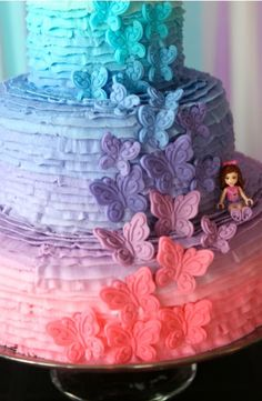 Lego Friends Birthday Cake - Lego girl Party ideas - Lego Friends