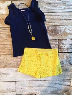 Yellow Spinner Short