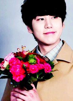 GIF KyuHyun | 140313 SPAO CF | ❤