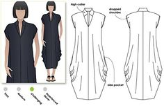 Style Arc Sewing Pattern - Toni Designer Dress (Sizes 04-... http://www.amazon.com/dp/B016HDZFQ2/ref=cm_sw_r_pi_dp_wW6sxb06HGFV1