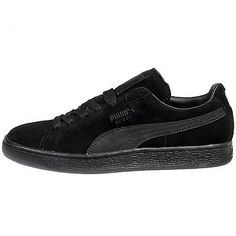 2df1596d4caa Puma Suede Classic + Lfs Mens 356328-01 Black Athletic Shoes Sneakers Size  8 Black