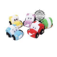 Washcloth Car  Diaper cake Car Birthday Favors by CHEEKYCHIQUEBABY, $5.99