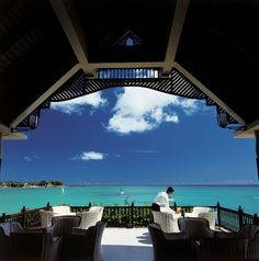 A Restaurant of Paradise Mauritius, Africa /// #travel #wanderlust