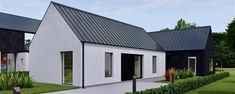 House Designs Ireland, Ireland Homes, Modern Farmhouse Exterior, Outside Living, Small House Design, Small House Plans, Building A House, Irish, Architecture