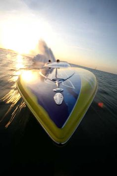 fast coasting on the ocean