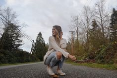 How to style boyfriend jeans in the fall | Hilary Vanderliek