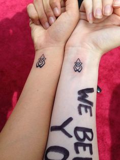 Hunting Ground Survivors And Lady Gaga Ink Up In Solidarity With Matching Tattoos | TheVine