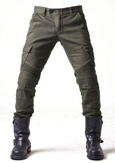 UglyBROS MOTORPOOL Olive moto pants