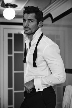 Photo by Arnaldo Ayana for British GQ......Yes Bubbie...im posting another of him lol