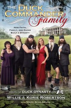This book gives readers an up-close and personal, behind-the-scenes look at the family in the exploding A show—#DuckDynasty. This Louisiana family operates Duck Commander, a booming family business that has made them millions. You'll hear all about the Robertson clan and what it was like growing up in the Robertson household. Also enjoy sampling some of the favorite family recipes!  #BestSellers #Nonfiction