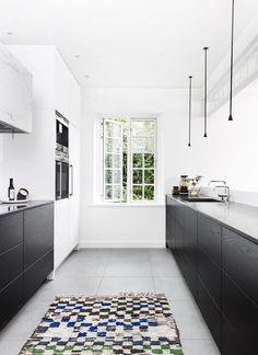 razor-sharp designer kitchen
