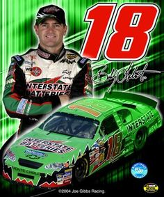 2005 Bobby Labonte collage- car, number, driver and signature art print