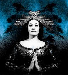 La Stupenda (Joan Sutherland) as Princess Lakme