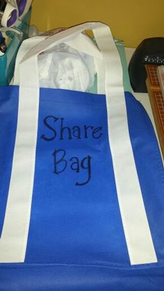 Share Bag for Show 'N Tell