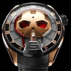 """""""HYT Skull Watch #hytwatch @hytwatches #watch #watches #watchporn #watchgramm…"""