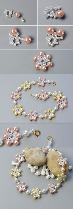 Wanna this flower beaded necklace?The details will be published by LC.Pandahall.com soon.
