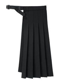 Yohji Yamamoto / Pleated Wrap Skirt | La Garçonne