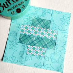 100 Modern Quilt Blocks - Block Six. This block is really quite simple to make.