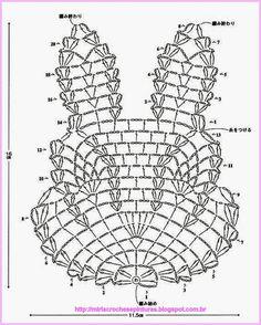 Filet Crochet, Crochet Motifs, Crochet Diagram, Thread Crochet, Irish Crochet, Crochet Chart, Crochet Doilies, Crochet Flowers, Holiday Crochet
