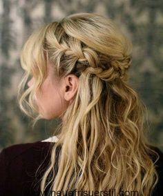 Schöne Zöpfe für Lange Haare