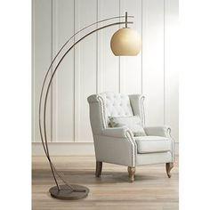 Possini Euro Venus Oil Rubbed Bronze Arc Floor Lamp - #1G319 | Lamps Plus