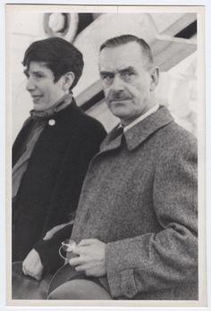 Erika and Thomas Mann