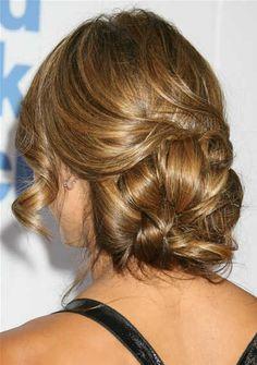 lauren conrad- wedding hair!