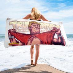 Trump Building, I Like Beer, Trump Face, Funny Memes, Hilarious, Hulk Hogan, Kanye West, Beach Towel, Donald Trump
