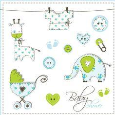 Baby elements #vectors