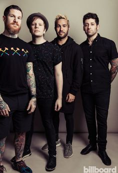 Fall Out Boy. Joe just doesn't seem right without the hair, y'feel?