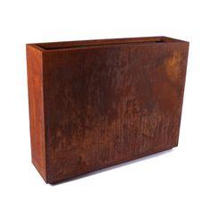 Veradek Metallic Series Corten Steel Planter Box